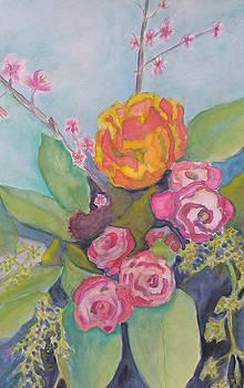 Spring Bouquet by Sheba Goldstein