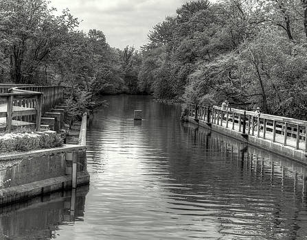 Spring on the D and R Canal by IB Ehrlich