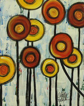 Spring Poppies by Molly Roberts