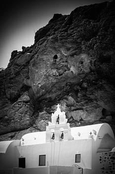 St. Nikolaos Church Santorini by Bjoern Kindler