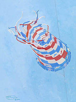Star Spangled Spinsock by Carol Thompson