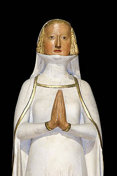 Charles Lupica - Statue of Lady praying