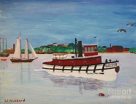 Steam Tug Eveleth by Bill Hubbard