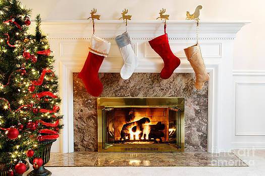 Jo Ann Snover - Stockings by the fire