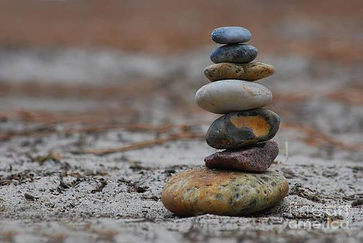 Hannes Cmarits - stone pyramide