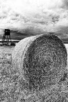 Straw bales by Falko Follert