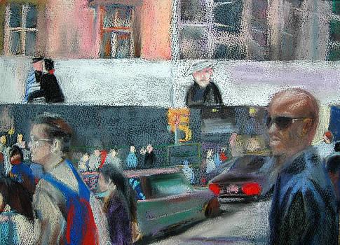 Street Corner by Donna Crosby