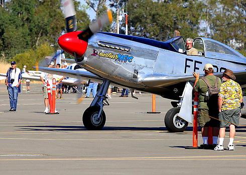 John King - Stu Eberhardt and his P51D Merlin