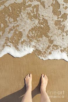Summer Feet At The Beach by Gillian Vann