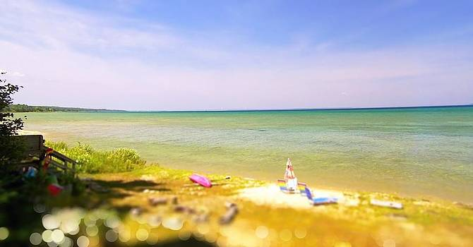 Summer on Lake Huron by Marysue Ryan