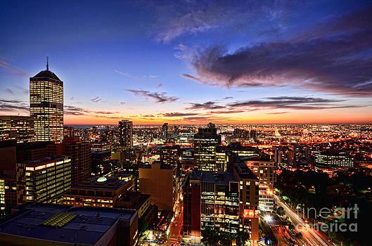 Summer Sunset by Ray Warren