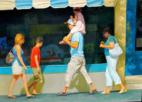 Summer Tourist by Mel Greifinger