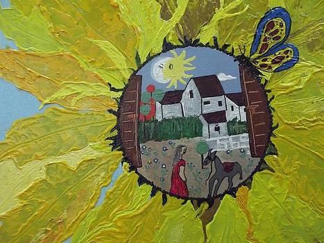 Sunflower by Maria tereza Braz