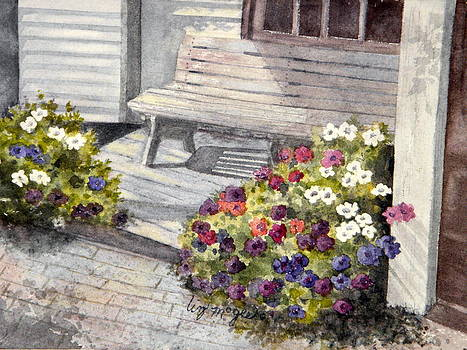 Sunny Porch by Lizbeth McGee