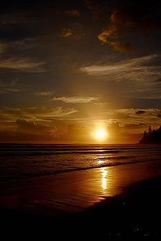 Sunrise at the Beach by Shane Dickeson