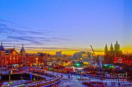 Pravine Chester - Sunrise in Amsterdam