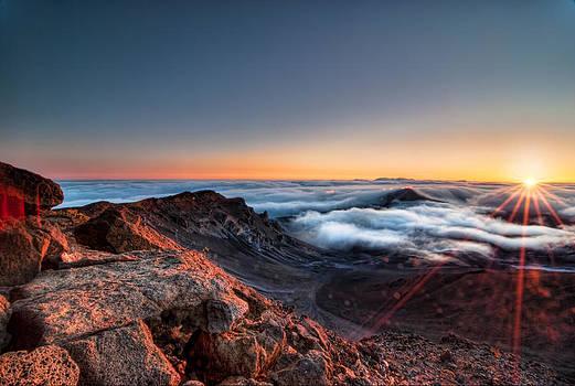 Sunrise on Haleakala by Preston Broadfoot