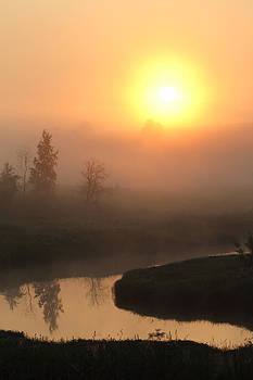Alex Sukonkin - Sunrise over a river