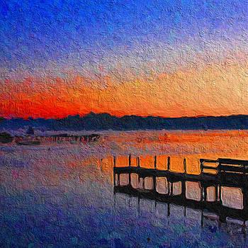 Sunrise pier by Angel Eowyn