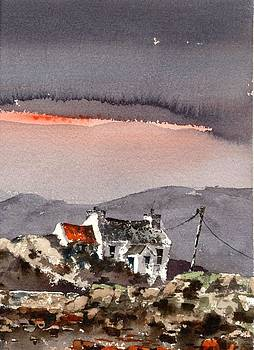 Val Byrne - Sunset in the west