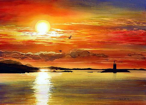 Hailey E Herrera - Sunset Lake