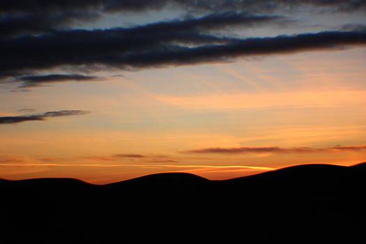 Sunset on the Palouse 1 by Linda Meyer