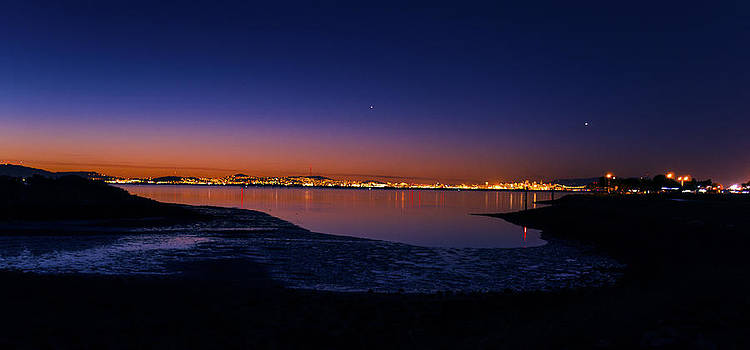 Sunset Over the Bay by Brandon McClintock