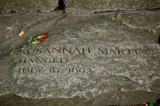 Sherlyn Morefield Gregg - Susannah Martin Memorial