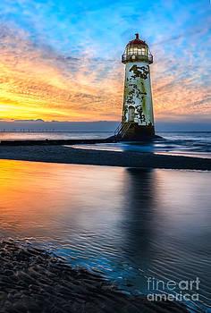 Adrian Evans - Talacre Lighthouse Sunset