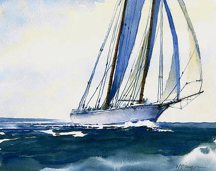 Tall Ship by William Beaupre