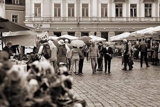 Tallinn Old Town by Sergei Zinovjev