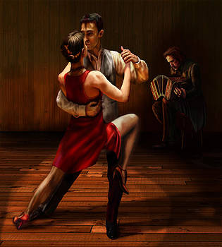 Tango by Virginia Palomeque