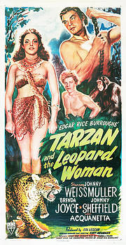 Tarzan And The Leopard Woman by Everett