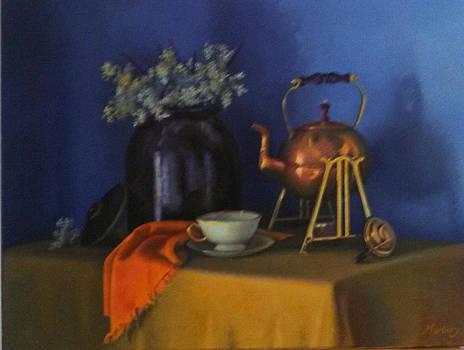 Tea time by John Marbury