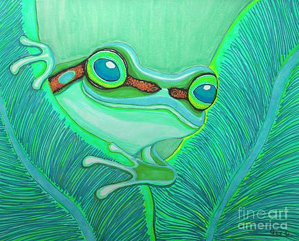 Nick Gustafson - Teal frog