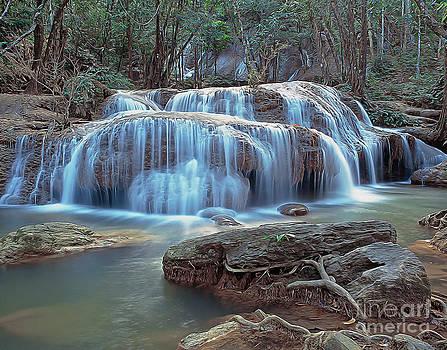 Thailand waterfall by Sergey Korotkov