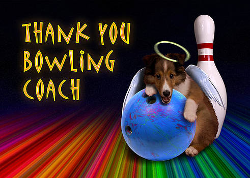 Jeanette K - Thank You Bowling Coach Sheltie Puppy