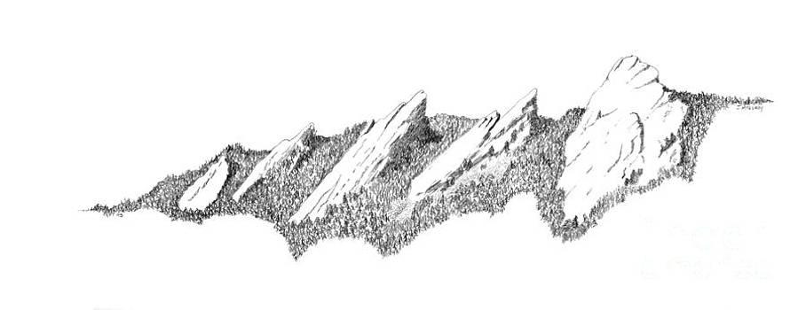 Jerry McElroy - The Boulder Flatirons