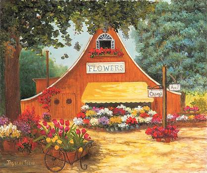 The Country Flower Market by Jeanene Stein
