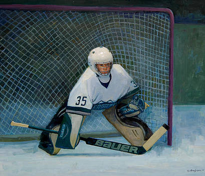 The Goalie by Mel Greifinger