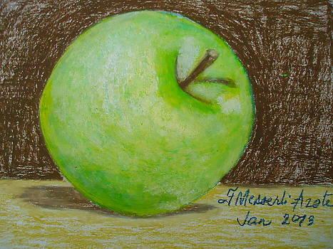 The green apple by Fladelita Messerli-