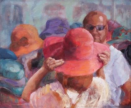 The Hat Market by Pamela Rubinstein