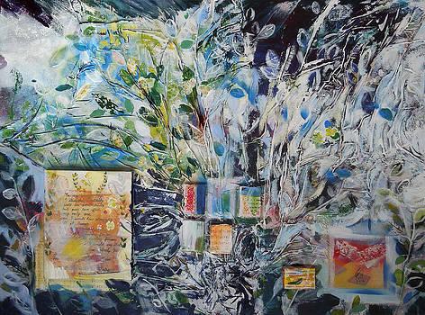 The Laurel Garden/ inspired by Francesco Petrarch's writings by Otilia Gruneantu Scriuba