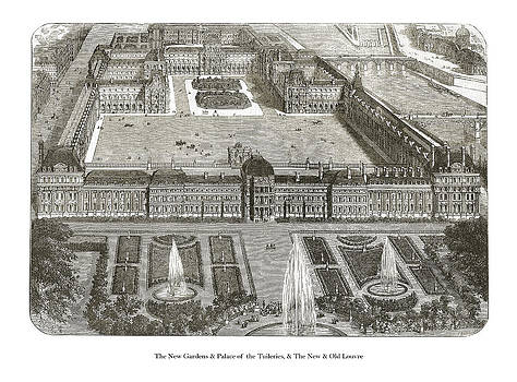 London Illustrated News - The Louvre