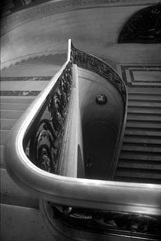 The Louvre Staircase by Harold E McCray