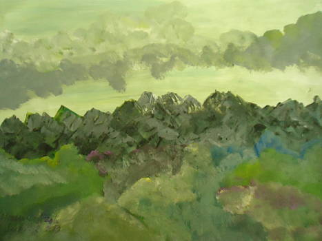 the Mountain by Fladelita Messerli-