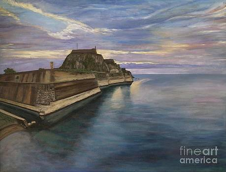 The Old Fortress of Corfu  by Ina Gerogianni