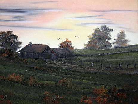 The Old Homestead. by Cynthia Adams