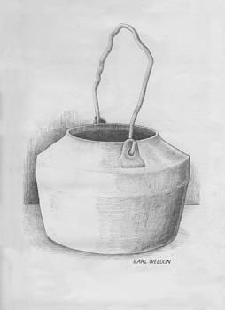 The Old Metal Pot by Earl Weldon