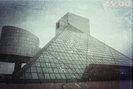 The Rock Hall Cleveland by Kenneth Krolikowski